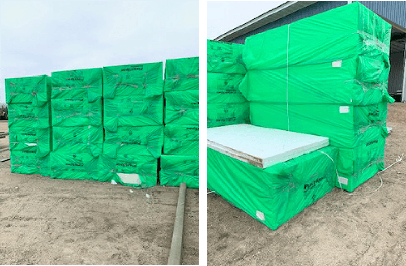 Foam Sheets at lakes concrete plus
