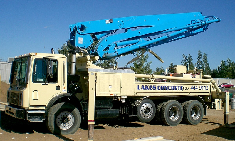 Lakes Concrete Plus Truck
