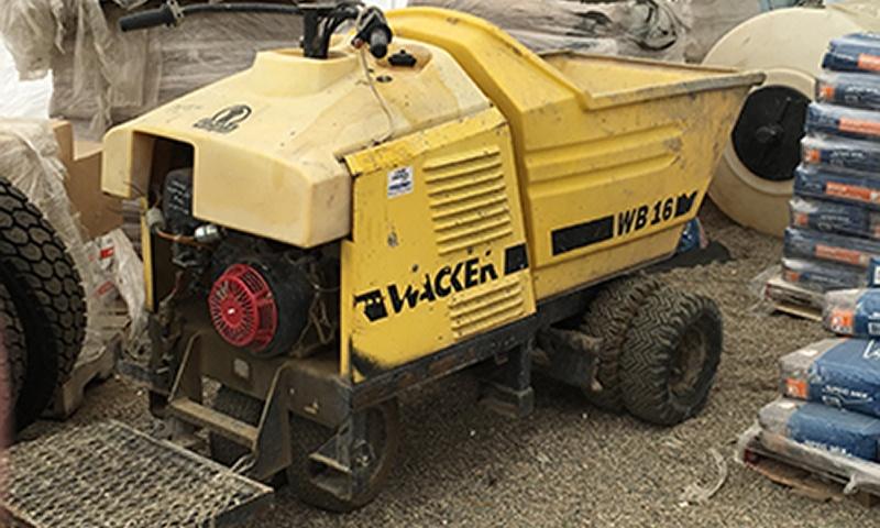 Lakes concrete yellow power buggy